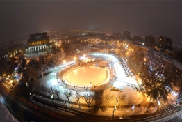 Yerevan at night.