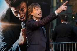 Musician Mick Jagger attends the premiere of 'Get on Up' in New York.