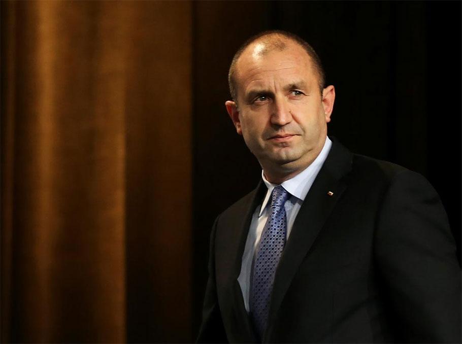 President of Bulgaria Rumen Radev