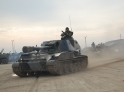 Exercises with support of tanks and artillery being held in Russian military base in Armenia