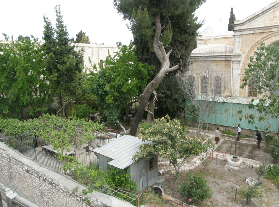 Երուսաղեմի հայկական թաղամասի այգիները