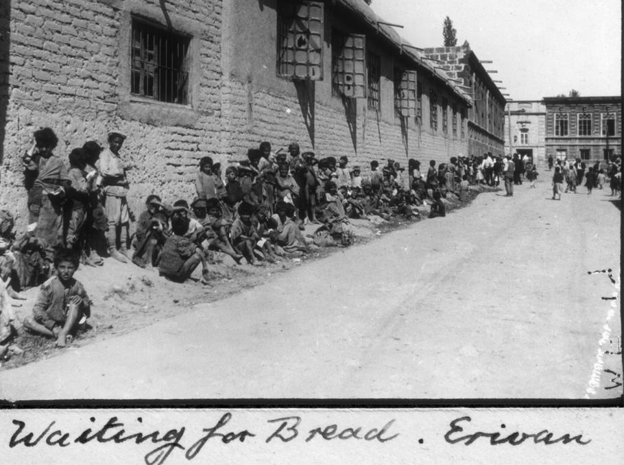 Waiting for bread, Erivan