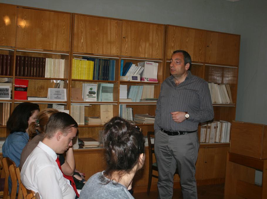 Areg Mickaelian at Byurakan Observatory