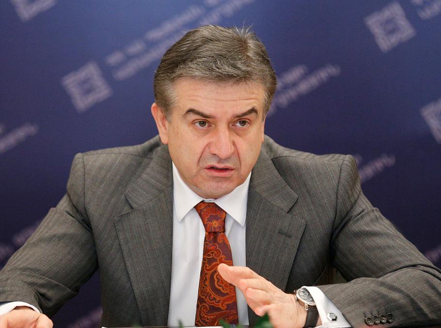 ՀՀ վարչապետի պաշտոնակատար Կարեն Կարապետյանը