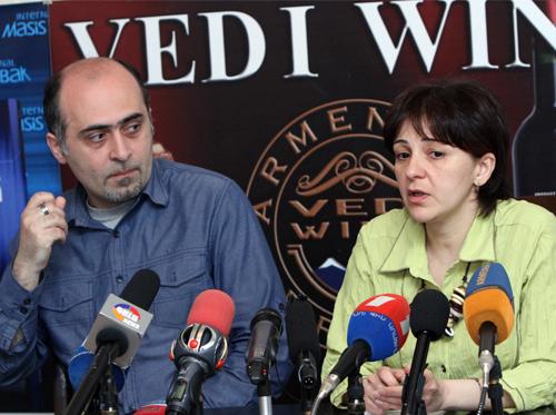 Սամվել Մարտիրոսյանն ու Սոնա Այվազյանը