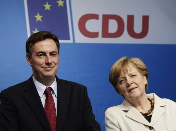 Angela Merkel and David McAllister