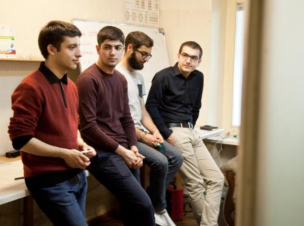 Members of YerevaNN lab