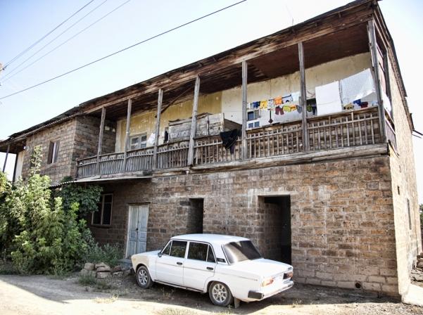 Նախկին որբանոցի շենքը